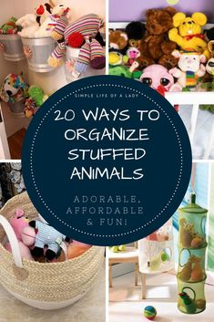 storage for stuffed animals that you will surely love!