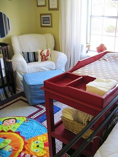 Master Bedroom Nursery Combo and then there was home: master bedroom/nursery combo | kids rooms