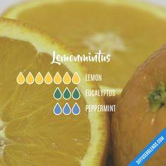 Lemon diffuser blend