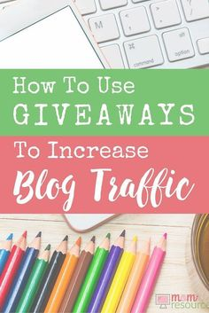 """A question I hear a lot is: """"How do I start offering giveaways on my blog?"""" Heather is a stay at home mom who makes money online & attracts lots of blog traffic hosting giveaways. For new bloggers, you can host giveaways on your blog to get more traffic quickly. Here are a few simple ways to get started offering blog giveaways."""