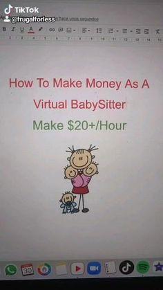 Make Money Now, Ways To Earn Money, Earn Money From Home, Earn Money Online, Online Jobs, Making Money Teens, Money Making Crafts, Jobs For Teens, Teen Life Hacks