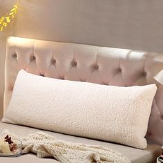 Reafort Ultra Soft Sherpa Body Pillow Cover/Case with Zipper Closure 21 Body Pillow Pillowcase, Pillow Shams, Pillow Cases, Long Pillow, Best Pillow, Home Design, Design Room, Design Ideas, Body Pillow Covers