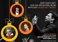 Houston Symphony - 2015-16: Holiday Gift Passes
