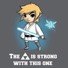 The Tri-Force is Strong with this One.