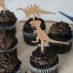 25 New Ideas monster truck birthday party ideas decoration baby shower Dinosaur Cupcake Toppers, Dinosaur Birthday Cakes, Dinosaur Cake, Monster Truck Cookies, Monster Truck Birthday, Truck Cakes, Baby Shower Decorations, Birthday Parties, 3rd Birthday