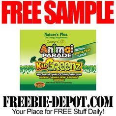 ►► FREE SAMPLE - Nature's Plus Children's Energy Supplement - FREE Kid Greenz ►► #FREESample, #FREEStuff, #FREEStuffForKids, #Freebies ►► Freebie-Depot
