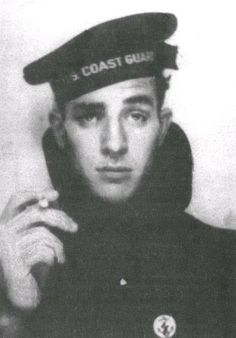coast guard print - not loving that he's smoking though
