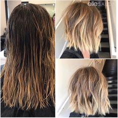 Chopped! Hair by @nicolette_ellesalon ⠀