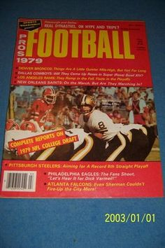 1979 Pro Football NEW ORLEANS Saints ARCHIE MANNING NFL College DRAFT Preview
