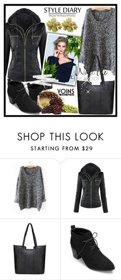 """Yoins"" by erina-salkic ❤ liked on Polyvore featuring Whiteley and WALL"