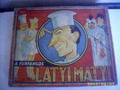 Latyi Matyi társasjáték Baseball Cards
