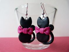 Cats with pink bow by amalie2.deviantart.com on @deviantART