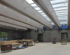 KAM kimbell art museum renzo piano pavilion construction designboom
