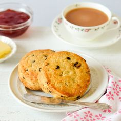 Currant Scones | $12 for 4. These classic scones make breakfast or tea time a treat! Available at: manykitchens.com