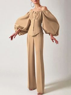 Elegantes Business Outfit, Elegantes Outfit, Couture Fashion, Hijab Fashion, Fashion Dresses, Look Fashion, Girl Fashion, Womens Fashion, Fashion Design