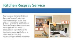 Kitchen Respray Service available here. if you want to make your kitchen wonderful then give me one chance I assure you will love my work because of our experts using new technology and also using their experience for Kitchen Respray that result you will get the best experience. for getting more information in touch with us. Kitchen Respray, One Chance, Give It To Me, How To Make, New Technology, Surface, Touch, Make It Yourself