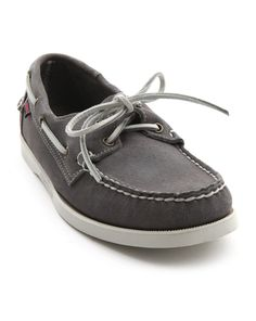 Sperry Top-Sider authentic original broken-in boat shoes, mercury ...