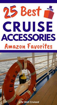 Here are the 25 most popular and recommended items to bring with you on your cruise. A must read for anyone preparing for their cruise vacation! Packing List For Cruise, Disney Cruise Tips, Cruise Travel, Cruise Vacation, Honeymoon Cruise, Cruise Europe, Vacation Spots, Cruise Ship Reviews, Best Cruise Ships