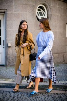 Street style photographer Robert Spangle snaps the most stylish women attending the shows right now in Copenhagen.
