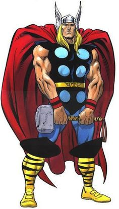 Thor - again with the un-flattering circle placement