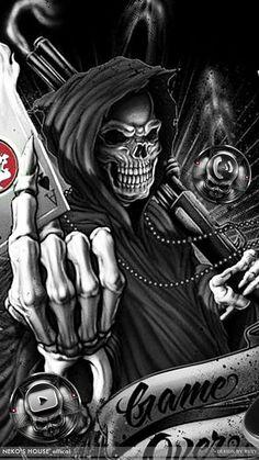 Death Poker Devil Skull Theme has the Death fire poker devil skull wallpaper and the dark metallic skull icon packs for the Android phone. Skull Rose Tattoos, Leo Tattoos, Skull Fire, Metal Skull, Graffiti Wallpaper, Skull Wallpaper, Dragon Wallpaper Iphone, Iphone Wallpapers, Arte Cholo