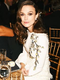The Hollywood Film Awards Moments You Missed on TV | PERFECTLY POISED | The Imitation Game star and best supporting actress winner Keira Knightley brings out the glamour (and somehow manages to match her macaroon to her gown) inside the awards ceremony.