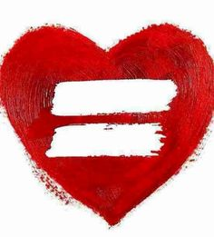 """Equality = love. """"No freedom 'til we're equal; damn right I support it."""" #macklemore Same Love, Love Is All, Equals Sign, Tumblr, Good Marriage, Marriage Law, Equal Rights, Rainbow Pride, Rainbow Heart"""