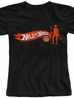 "Women's ""Hell on Heels"" Tee by The T-Shirt Whore"