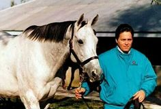 Winning Colors at Gainesway Farm//amazing how her color changed over the years.  I love grey's