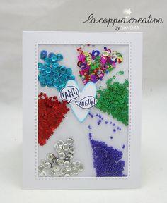 Shaker Card Tutorial with Photo Fuse Tool-Biglietto auguri Buon Compleanno