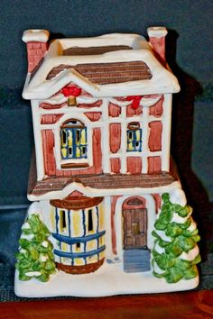 Holiday Christmas Village House