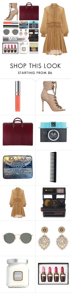 """""""5.337"""" by katrina-yeow ❤ liked on Polyvore featuring Chantecaille, Kendall + Kylie, Gucci, GHD, Chloé, Impossible Project, Polaroid, Ray-Ban, Miguel Ases and Laura Mercier"""