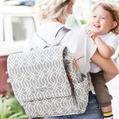 Petunia Pickle Bottom Diaper Bag Boxy Backpack Glazed Quartz #laylagrayce