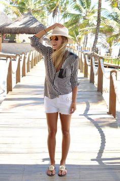 White Shorts - Nati Vozza