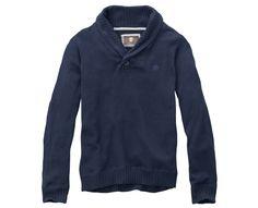 Timberland - Men's Earthkeepers® Lightweight Shawl Collar Sweater