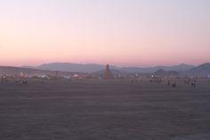 Burning Man sunrise