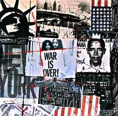 New York, Andy Warhol, Basquiat, Street Art, Pop Art, Collage, Jeff Callec