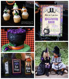 Little Witches and Wizards Halloween Party