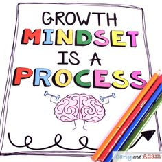 Growth Mindset is a Process — Carly and Adam Teaching Strategies, Teaching Tips, Stem Teaching, Apple Classroom, Classroom Freebies, Back To School Activities, Stem Activities, Therapy Activities, Growth Mindset Lessons