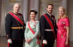 The Royal House of Norway belongs to the House of Glücksburg. The members of the Norwegian Royal House are Their Majesties King Harald and Queen Sonja and Their Royal Highnesses Crown Prince Haakon,  Crown Princess Mette-Marit and Princess Ingrid Alexandra.