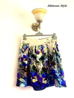 Jupe Fleurie Mimoza-Style  http://mimoza-style.alittlemarket.com