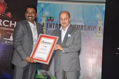Mr. Sendhil kumar, Director, SilverLake Infomation System Pvt. Ltd. Dhirubhai Ambani, Ratan Tata, Excellence Award, Entrepreneurship, Awards