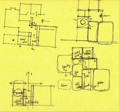 Schematic design. During the schematic design phase, architects and other design professionals use quick floor-plan studies in conjunction w... Design Process, Tool Design, Design Concepts, Floor Plan Sketch, Bubble Diagram, Schematic Design, Plan Drawing, Layout, Building A New Home