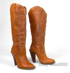 Jessica Simpson Abilene Cowboy Cowgirl Boots - Wmn's 5.5B Excellent Alan Western | Clothing, Shoes & Accessories, Women's Shoes, Boots | eBay!