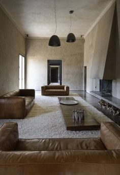 Using sun-dried bricks made from local dirt, Karl Fournier and Olivier Marty of Studio Ko constructed Villa D in Al Ouidane as a house from… Interior Exterior, Home Interior, Interior Architecture, Interior Decorating, Interior Design, Design Art, Creative Architecture, Interior Plants, Design Interiors
