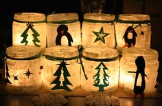 Wonderful and easy Christmas Lights.. Great gifts for grandmas, aunts and uncles :)