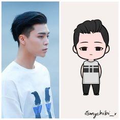 Image may contain: 1 person Nct Kun, Nct 127 Johnny, Korean K Pop, Pop Dolls, Kpop Fanart, Nct Dream, Boy Groups, Chibi, Funny Memes