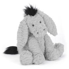 Buy Jellycat Fuddlewuddle Donkey Soft Toy, Medium from our Soft Toys range at John Lewis & Partners. Soft Toys Making, Cute Stuffed Animals, Jellycat, Stuffed Toys Patterns, Animals For Kids, Sock Animals, Kind Mode, Baby Toys, Pet Toys