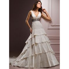 Champagne Color Wedding Dress
