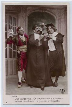 Figaro, Don Basilio e il Conte di Almaviva